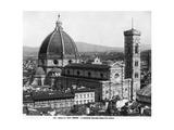 Basilica Di Santa Maria Del Fiore in Florence  1932