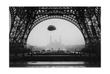Experiments with a Parachute on the Eiffel Tower  1913