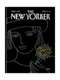 The New Yorker Cover - July 8  1991
