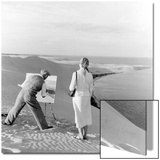 Painter on a dune  1939