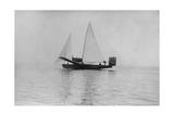 Rohrbach Ro Iii with Sails Hoisted  1925