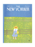 The New Yorker Cover - July 29  1985