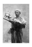 Egyptian Street Vendor in Cairo  1928