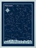 Northern Hemisphere Star Chart