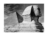 Cheops Pyramid and Sphinx in Giza  Ca 1930's