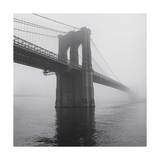 Brooklyn Bridge Tower in Fog