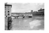 The Ponte Vecchio in Florence  1909