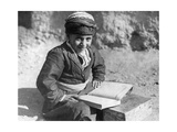 Kurdish School Boy in Iran  1929