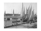 Sailing Boats in Cairo  1907