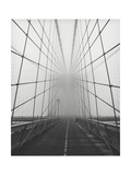 Brooklyn Bridge Cables in Fog