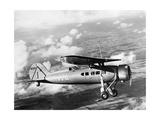 Maschine der Transcontinental & Western Airlines im Flug  1932