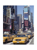 Yellow Cabs  Times Square  New York City 3