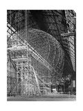 Zeppelin Lz 129 'Hindenburg' under Construction