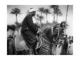 Man on a Horse  1930S