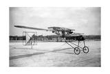 Modell des Zaschka-Rotationsflugzeuges in Berlin-Tempelhof  1928