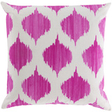 Ogee Poly Fill Pillow - Magenta