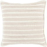 Willow Poly Fill Pillow - Ivory
