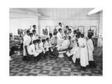 Ausbildung zum Barbier in Paris  1936