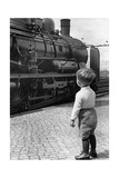 Steam Locomotive in Germany  1936