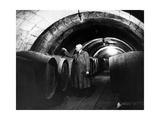 Weinverkoster in Saumur in Frankreich  1937