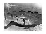 Tasman-Gletscher in Neuseeland  1927