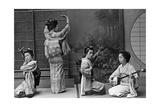 Japanische Geishas  1910er Jahre