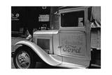 Der erste Ford-Lastwagen Deutschlands auf der Straße  1931