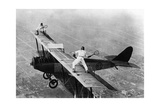 Tennis auf einem Flugzeug  1925