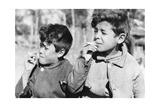 Kinder in Argentinien  1938