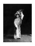 Chinesische Theaterschauspielerin  1924
