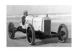 """Der Rennfahrer Sig Haugdahl in seinem """"Daytona Special""""  1926"""