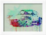Porsche 911 Watercolor 2
