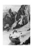 Bergsteiger in den italienischen Alpen  1930er Jahre