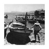 Hafen von Palermo  1930er Jahre