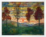 Four Trees  c1917