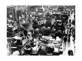 Billingsgate Fischmarkt in London  1936