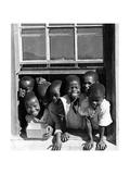 Zulukinder in Südafrika  1938