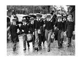 Schüler der Orley Farm School in London  1938