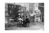 Spieler auf den Straßen von Kairo  1909