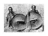 Abessinische Truppen im Krieg gegen Italien  1935