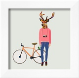 Fashionable Hipster Deer