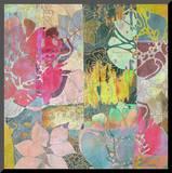 Art Floral Grunge Background Pattern