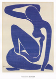 Nu bleu I Reproduction d'art par Henri Matisse