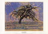 Blue Tree Reproduction pour collectionneurs par Piet Mondrian