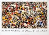 Convergence Reproduction pour collectionneurs par Jackson Pollock