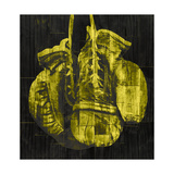 Boxing Gloves - Yellow