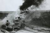 Destroyed Soviet Tanks at Junourcia  During the German Invasion of the USSR (Russia)  Summer 1941
