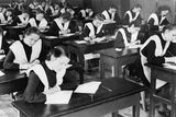 Soviet Female Graduates from the Tenth Grade Writing Compositions for their Diplomas