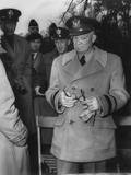 Gen Dwight Eisenhower Reacts to Macarthur's Dismissal by Truman  April 11  1951