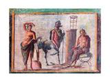Apollo  Chiro and Asclepius